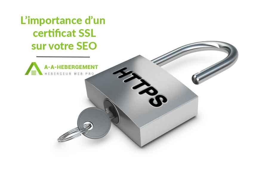 L'importance du certificat SSL pour le référencement