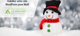 Ajoutez la magie de Noël à votre site WordPress !